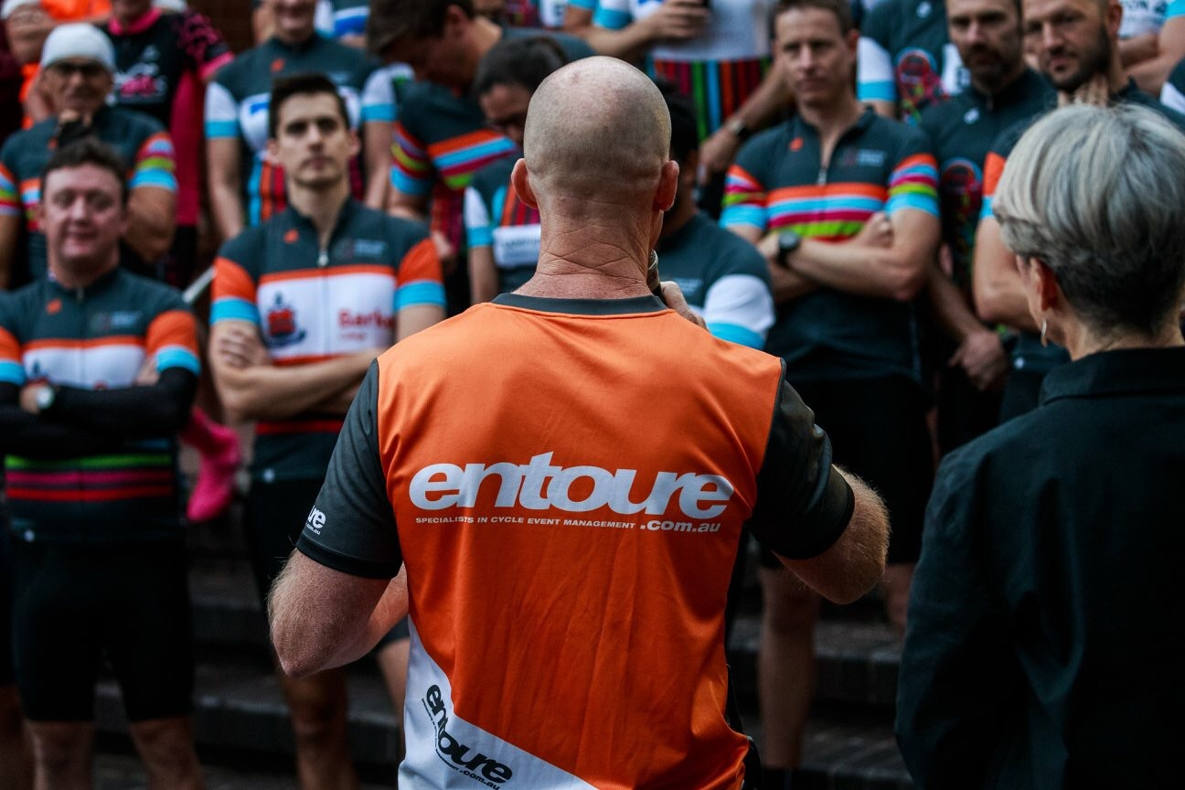 Entoure Bike Ride For Brain Cancer